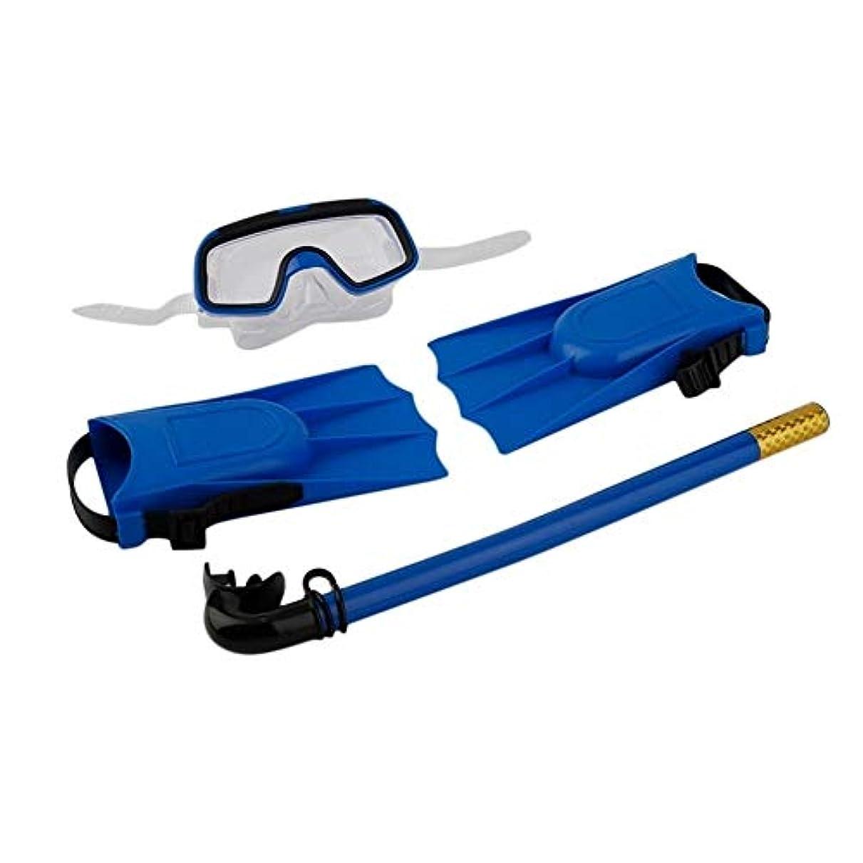 3パック子供のシュノーケリングセット男の子ダイビングセットシュノーケリングダイビングトレーニング機器ダイビングマスク+足首+足首ドロップシッピング g5y9k2i3rw1