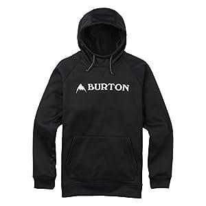 Burton(バートン) フーディー パーカー メンズ フリース CROWN BONDED PULLOVER Mサイズ True Black 108911 撥水 速乾 透湿 保温