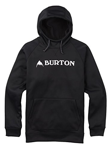 Burton(バートン) フーディー パーカー メンズ フリース CROWN BONDED PULLOVER Sサイズ True Black 108911 撥水 速乾 透湿 保温