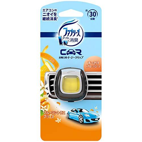ファブリーズ 車用 クリップ型 消臭芳香剤 イージークリップ フルーツシトラルブリーズ 2mL