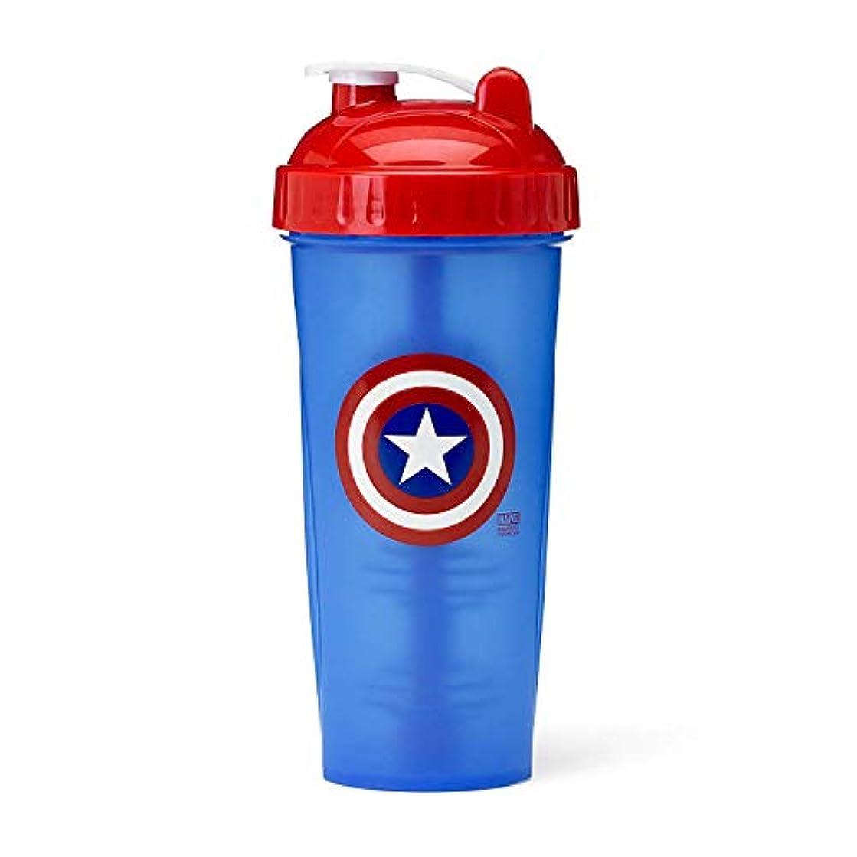 インタネットを見るインタネットを見るセンチメートルPerfectShaker Hero Series Captain America Shaker Cup (800ml) by Perfect Impressions