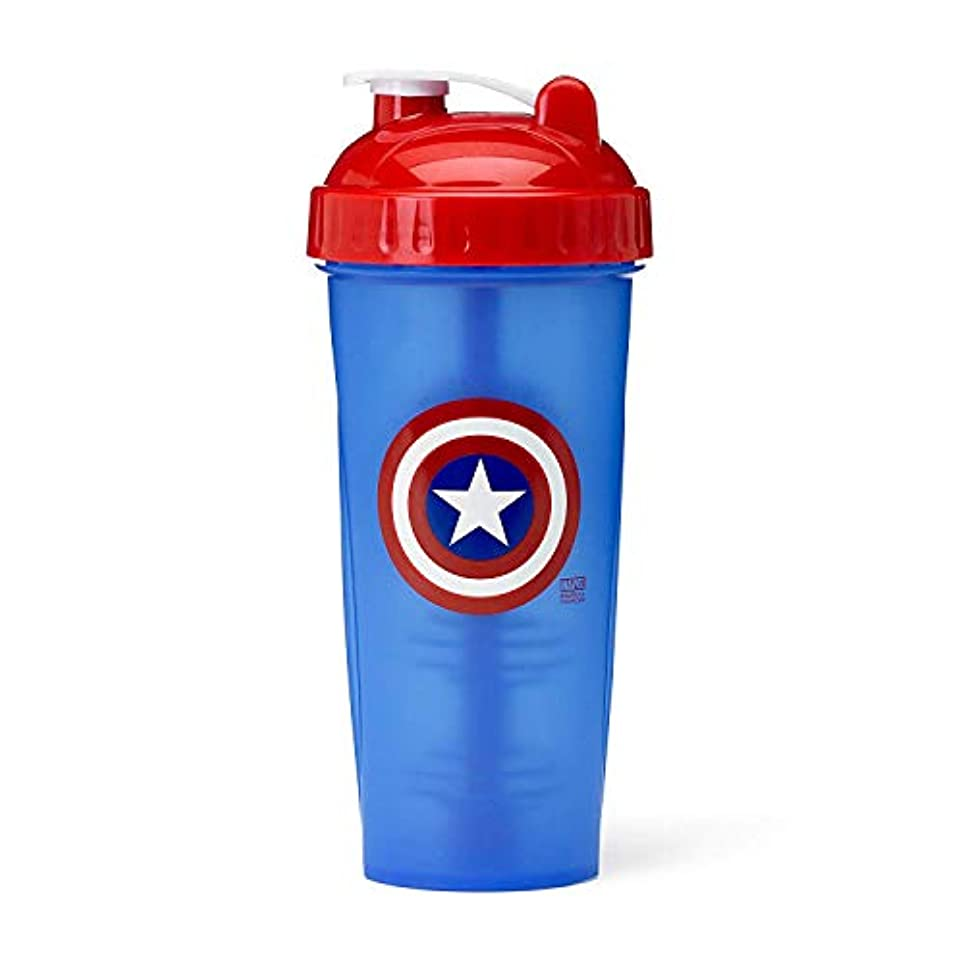 歯科医記念日ミサイルPerfectShaker Hero Series Captain America Shaker Cup (800ml) by Perfect Impressions