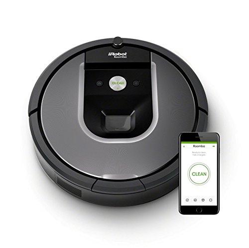 【Amazon.co.jp限定】ルンバ961 アイロボット ロボット掃除機 カメラセンサー カーペット 畳 段差乗り越え wifi対応 自動充電・再開 吸引力 マッピング R961060【Alexa対応】