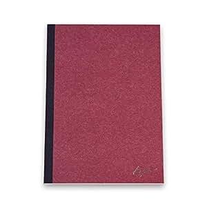 水平開きノート Kosae A5 [80枚] (あずき)