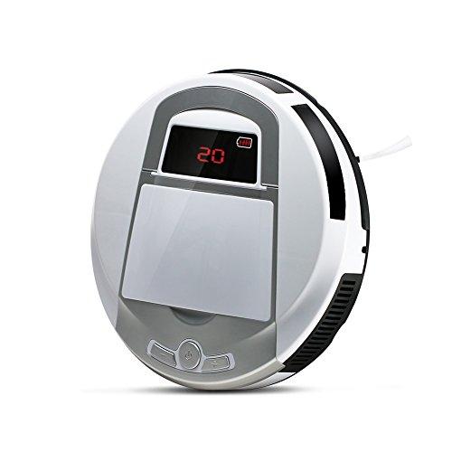 自動ロボット掃除機 EVERTOP ロボットクリーナー 落下防止感知センサー/タイマー機能搭載/大容...