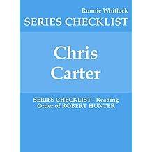 Chris Carter - SERIES CHECKLIST - Reading Order of ROBERT HUNTER