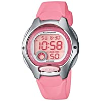 Casio Kids' 37.9mm LW200 4B Digital Watch Pink/Grey