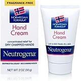 Neutrogena Norwegian Formula Hand Cream, Fragrance-Free, 2 Ounce Pack of 1