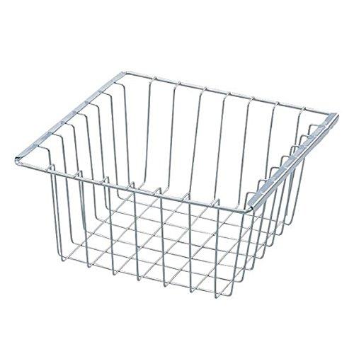 RoomClip商品情報 - アイリスオーヤマ カラーボックス バスケット シルバー 幅27×奥行27×高さ13cm CXB-27