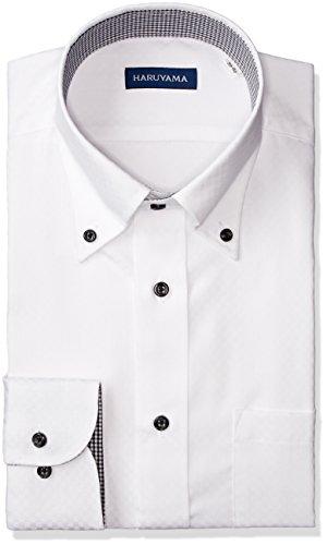 (ピーエスエフエー) P.S.FA 形態安定 アーバンモデル 長袖 ボタンダウンワイシャツ M151180103 01 ホワイト L84(首回り41cm×裄丈84cm)