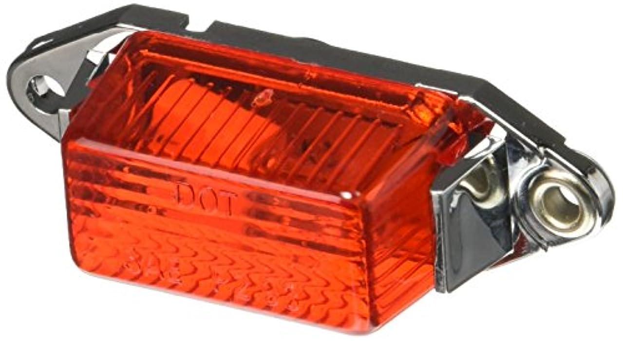 罪ベンチャー郡交換可能な電球とレンズとのRoadpro RP-107R 1.75×1ミニライト - レッドクロームベース(1各)