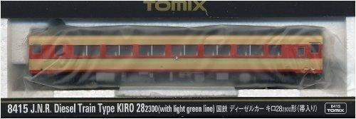 TOMIX Nゲージ 8415 国鉄ディーゼルカー キロ28-2300形 (帯入り)
