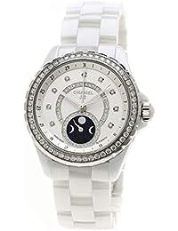 3eb4987e23fa [シャネル]J12 38 ファーズ ドゥ リュヌ H3405 腕時計 セラミック/セラミック メンズ (中古
