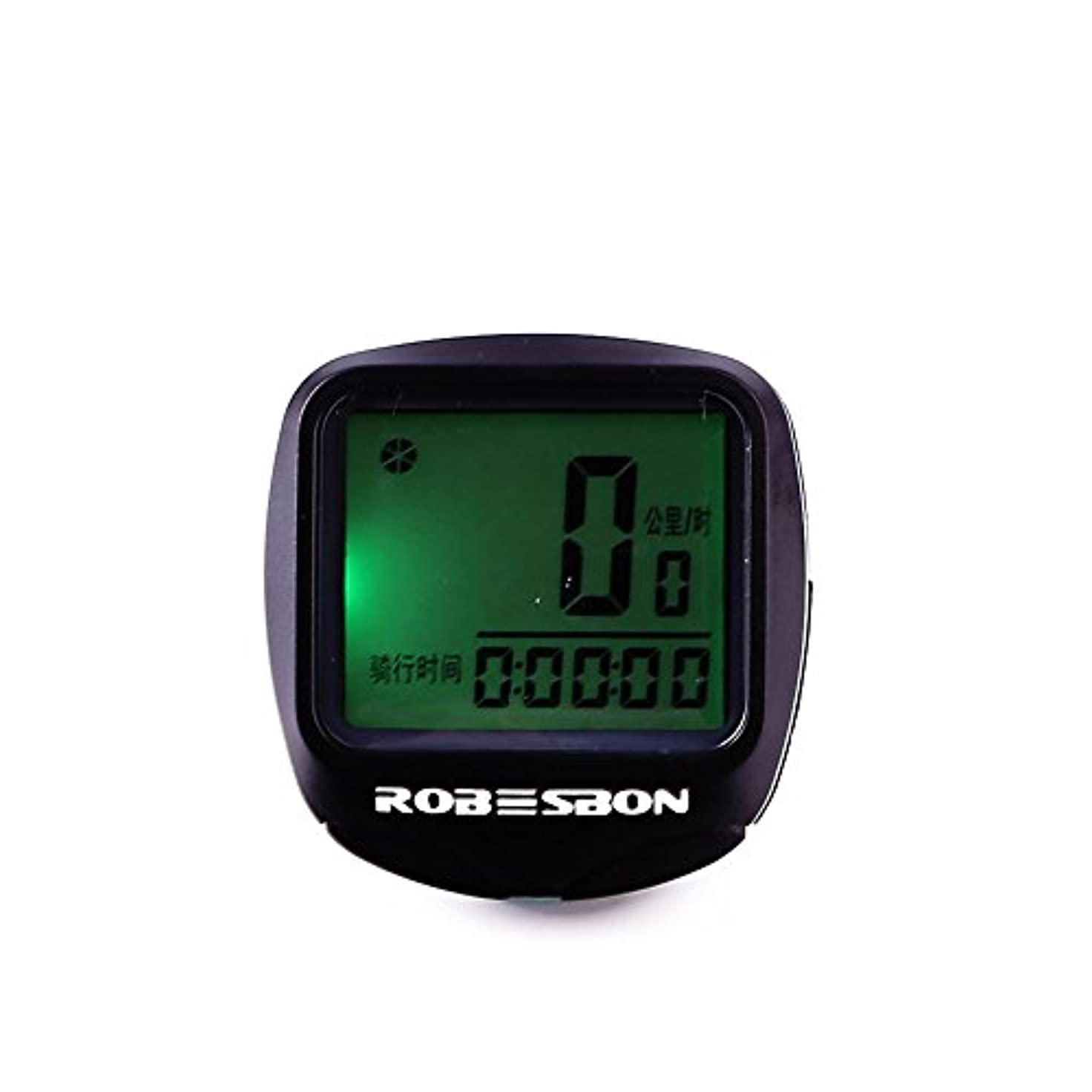ペデスタルまさに勉強するBeautyrain 自転車速度計走行距離計 LCDスクリーンバックライトオートウェイクアップバックライトトラッキングライディングスピードと距離 アウトドアスポーツ用品