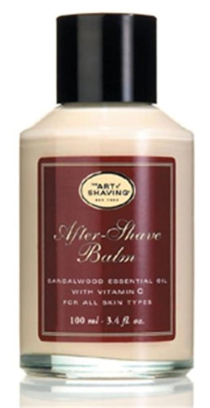 盗難ファシズム典型的なThe Art Of Shaving After-Shave Balm With Sandalwood Essential Oil (並行輸入品) [並行輸入品]