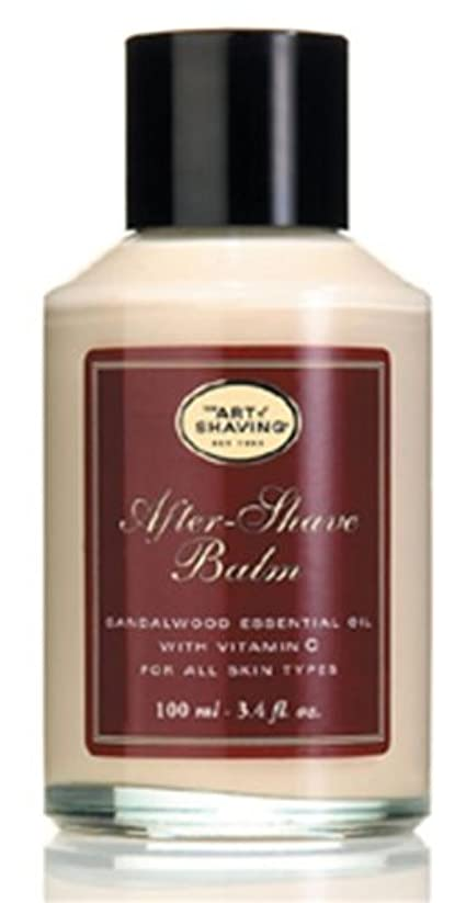 オセアニア標準自発The Art Of Shaving After-Shave Balm With Sandalwood Essential Oil (並行輸入品) [並行輸入品]
