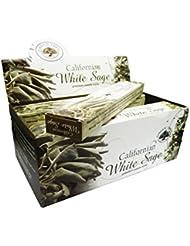 グリーンツリーCalifornianホワイトセージお香ボックス12のパック
