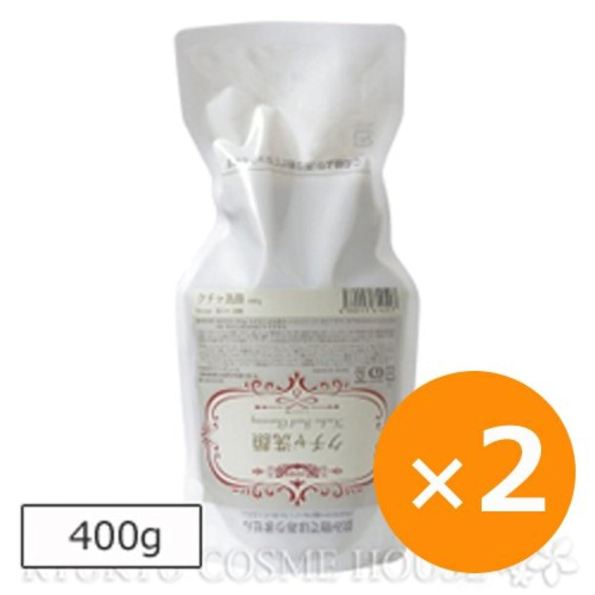 プラスチック葉を拾うブランチRyuspa リュウスパ クチャ洗顔 400g×2個 エコパウチ 詰め替え用
