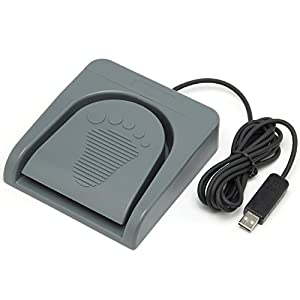 ルートアール メカニカル 高機能USBフットペダルスイッチ ゲームパッド・マルチメディア入力対応 RI-FP1DXG