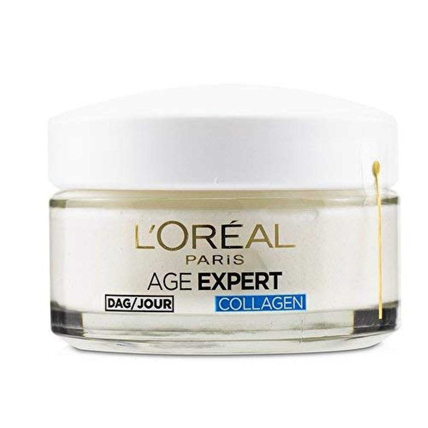 社会主義者項目荒れ地ロレアル Age Expert 35+ Collagen Anti-Wrinkle Hydrating Day Cream 50ml/1.7oz並行輸入品