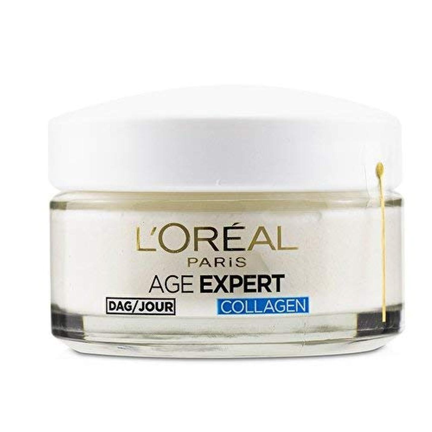 発音する会う地理ロレアル Age Expert 35+ Collagen Anti-Wrinkle Hydrating Day Cream 50ml/1.7oz並行輸入品