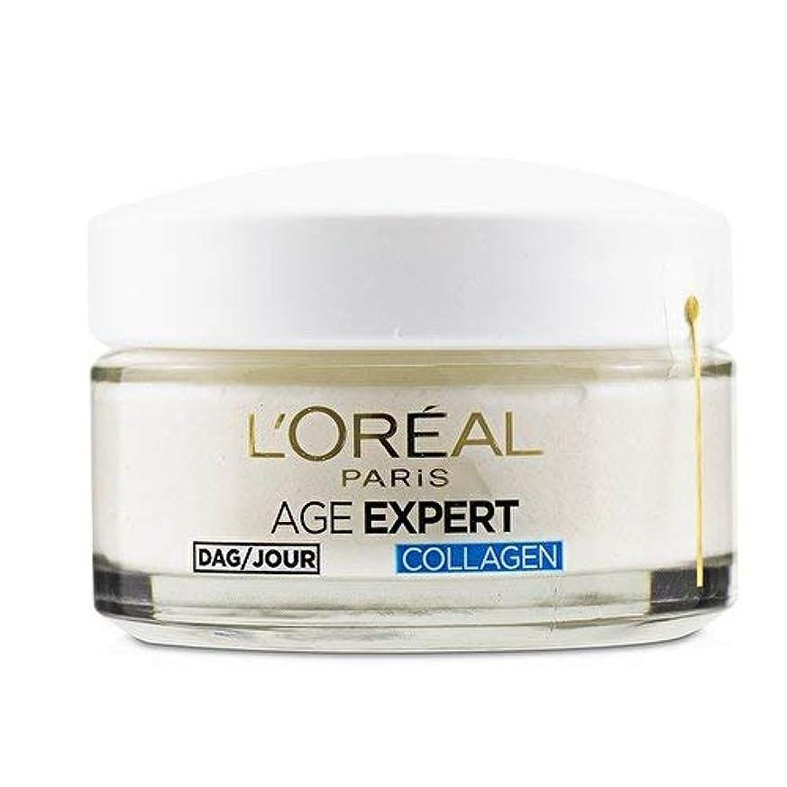 年金指標咲くロレアル Age Expert 35+ Collagen Anti-Wrinkle Hydrating Day Cream 50ml/1.7oz並行輸入品