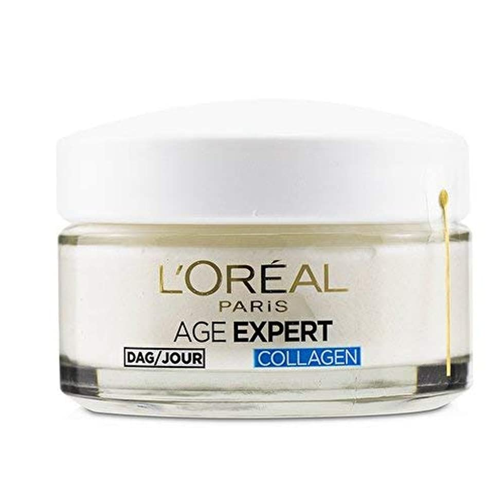 支援する初期の混雑ロレアル Age Expert 35+ Collagen Anti-Wrinkle Hydrating Day Cream 50ml/1.7oz並行輸入品