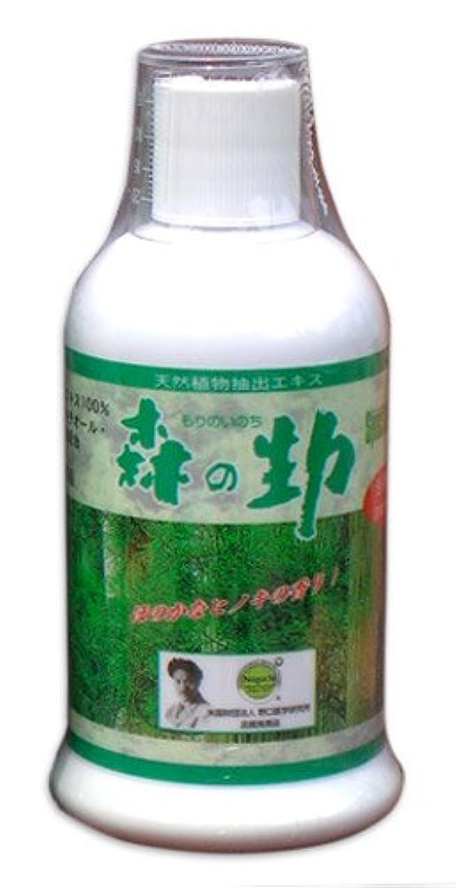 韓国語甘やかす同封するスペースグウッズ?入浴剤 森の生力(いのち)300ml 3本セット