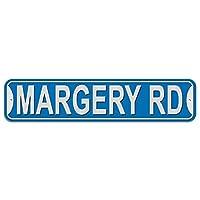 マージェリー道路 - 青 - プラスチック壁符号
