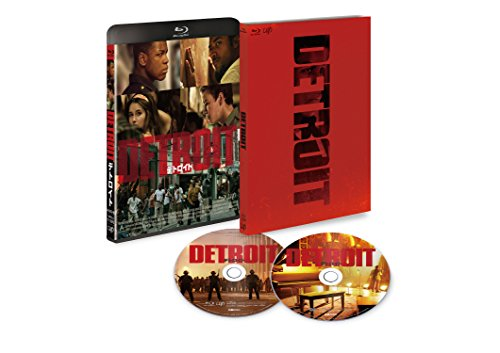 【Amazon.co.jp限定】デトロイト (初回限定版) [Blu-ray] (オリジナルステッカー付)
