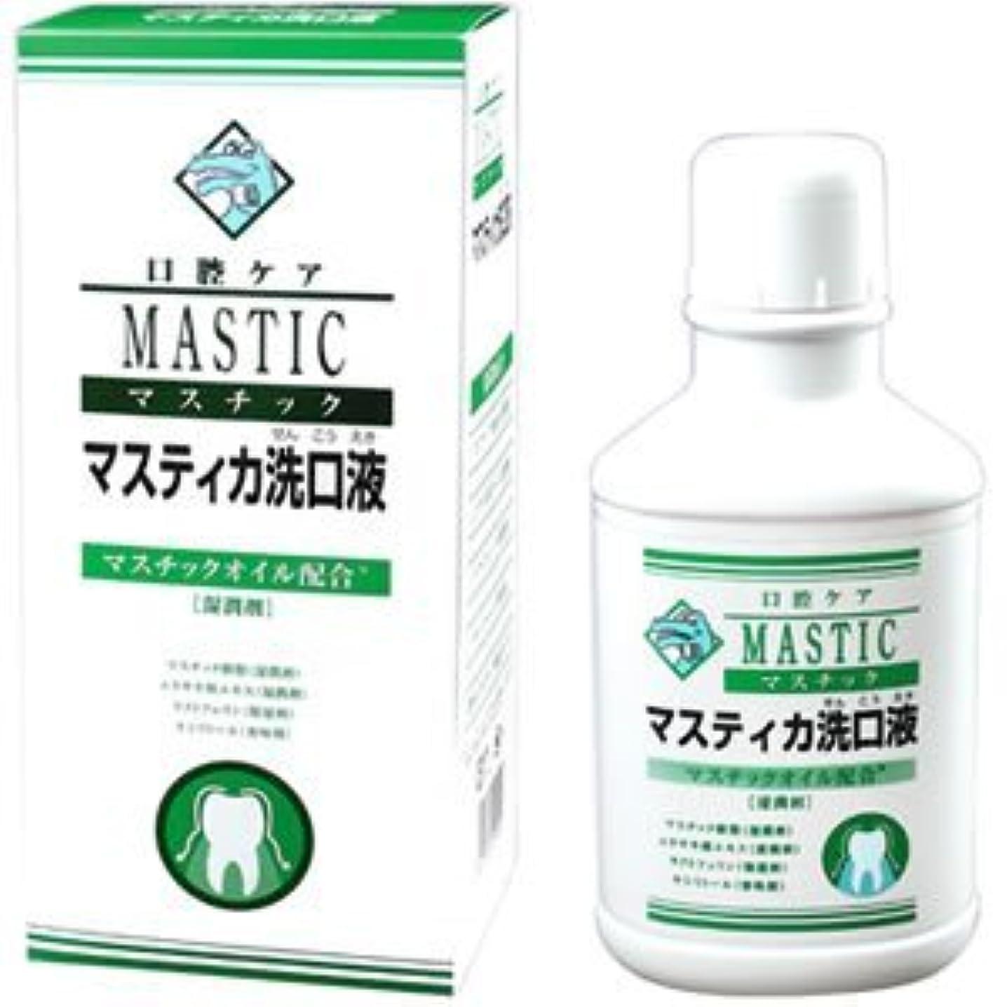 医薬品砂漠語マスチック マスティカ 洗口液 480mL