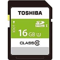TOSHIBA SDHCカード 16GB Class10 UHS-I対応 (最大転送速度40MB/s) 5年保証 日本製 (国内正規品) SDAR40N16G