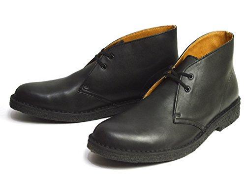 (ゴールデンレトリバー)GOLDEN RETRIEVER 本革 デザートブーツ チャッカブーツ メンズ ブーツ 革靴 クレープソール 天然ゴム 靴 シューズ