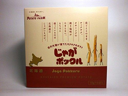 ポテトファーム じゃがポックル 【6袋入り】×12箱