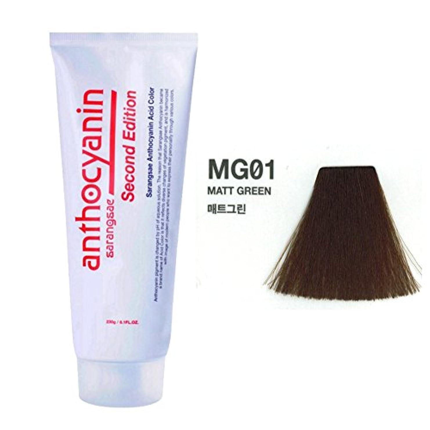 深さ知覚破産ヘア マニキュア カラー セカンド エディション 230g セミ パーマネント 染毛剤 (Hair Manicure Color Second Edition 230g Semi Permanent Hair Dye) [並行輸入品] (MG01 Marr Green)