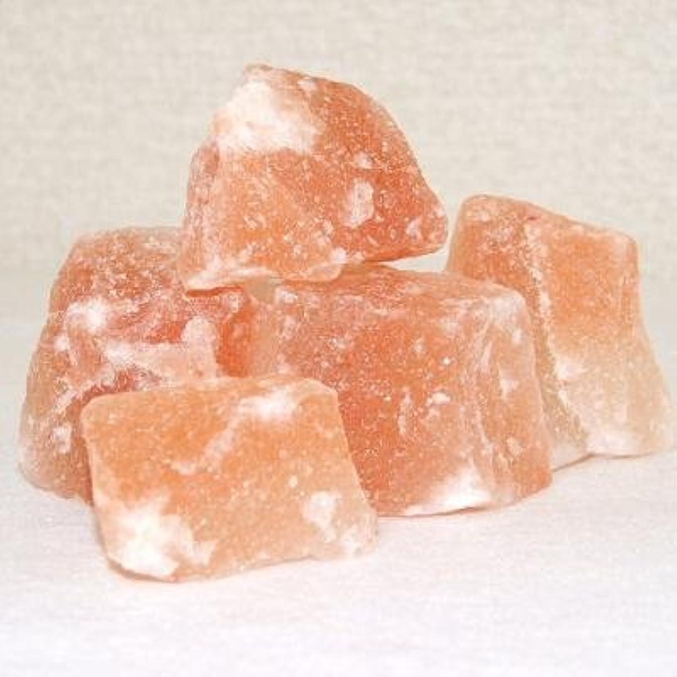生き残ります信じるセクションヒマラヤ岩塩 ピンクソルト 【ブロック/1kgパック】(入浴用/バスソルト)