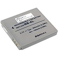 【増量】【ロワジャパン社名明記のPSEマーク付】CANON キヤノン IXY Digital L3 IXY 610F の NB-4L 互換 バッテリー
