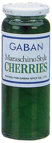 ギャバン マラスキノ チェリー 緑 220g瓶