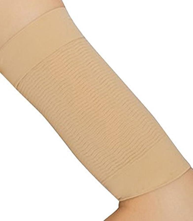 緩やかな痴漢廃止CREPUSCOLO 二の腕引き締め! 二の腕シェイパー 二の腕 引き締め 二の腕痩せ ダイエット 二の腕ダイエット インナー シェイプアップ 脂肪燃焼 セルライト 加圧下着 (ベージュ)