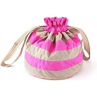 7A.M. ENFANT ROTONDO BAG Neon Pink