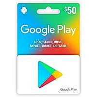 Google play card $50 北米版