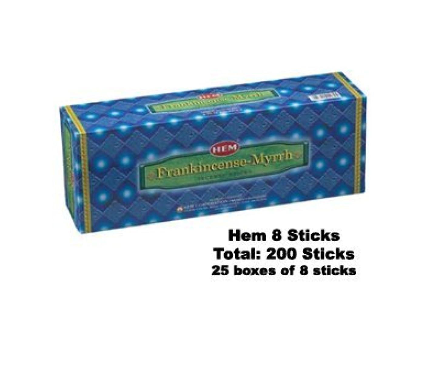 建てるロケット急ぐFrankincense & Myrrh 25-pack (8 Sticks perパック)
