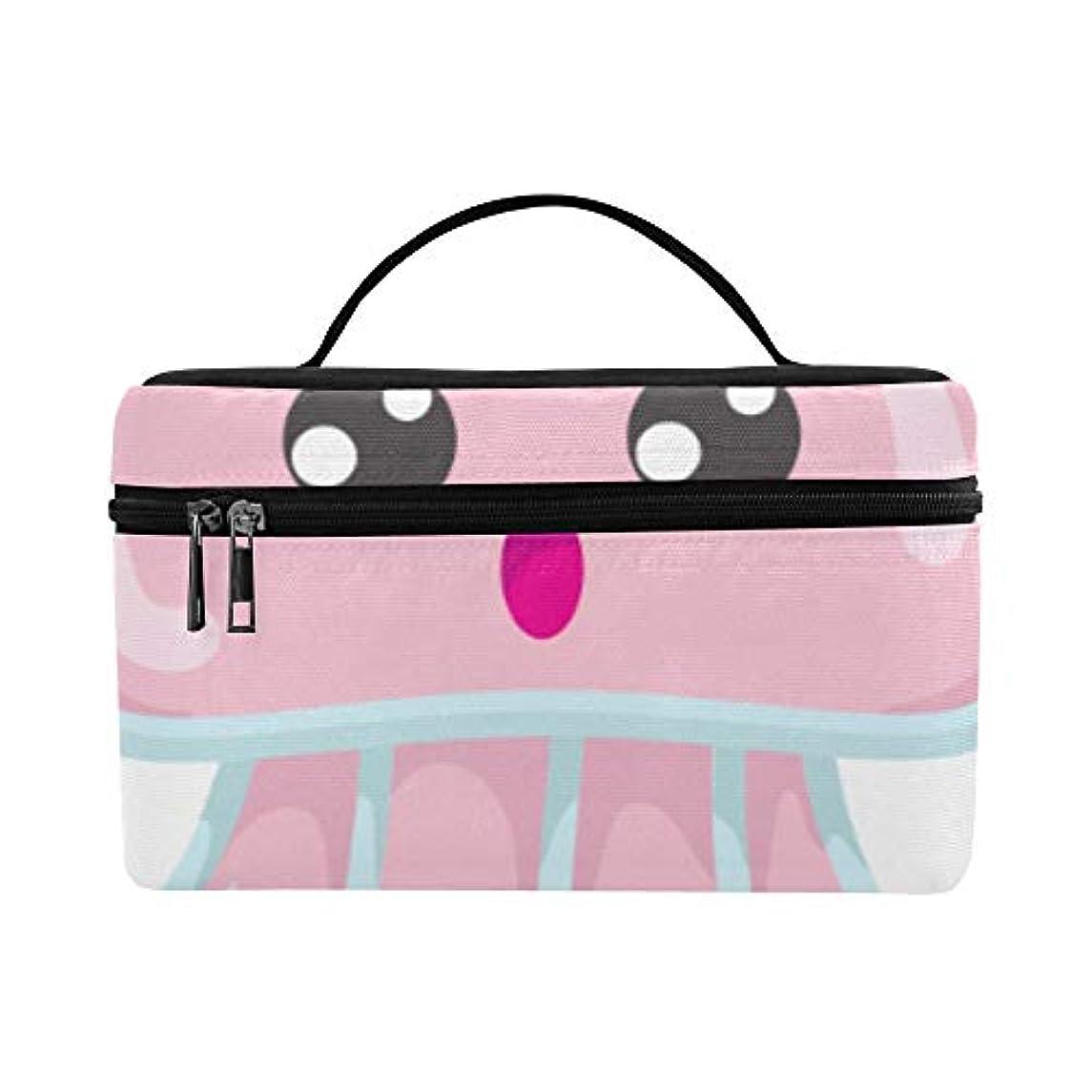遺産なのでセッションXHQZJ メイクボックス かわいい クラゲ コスメ収納 化粧品収納ケース 大容量 収納ボックス 化粧品入れ 化粧バッグ 旅行用 メイクブラシバッグ 化粧箱 持ち運び便利 プロ用