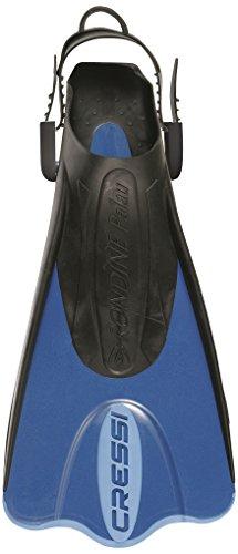 [해외] CRESSI(구렛시) snorkel 스쿠바 스윔 fin PALAU SAF [ 쇼트 ] 어른용 【정규품】 블루 XS/S (35/38) CA132035-CA132035