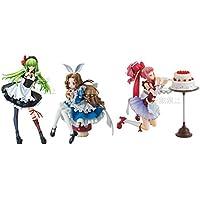一番くじプレミアム コードギアス in Wonderland A賞 CC&B賞 ナナリー&C賞 アーニャ プレミアムフィギュア 3点セット