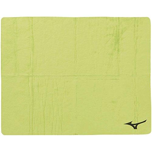 MIZUNO(ミズノ) スイムタオル 高吸水 セームタオル 暑さ対策 水泳 プール N2JY801031 ライトグリーン 大(44×68cm)