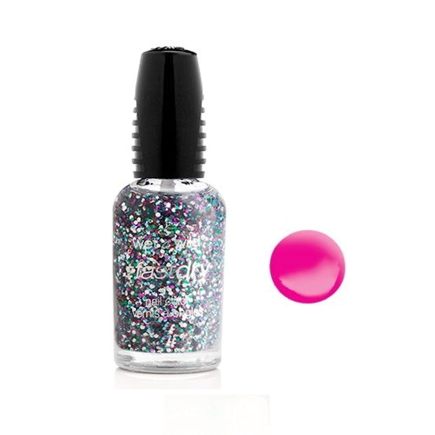 軽減期限切れ効果的に(3 Pack) WET N WILD Fastdry Nail Color - How I Met Your Magenta (DC) (並行輸入品)
