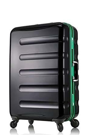 レジェンドウォーカー スーツケース 静音キャスター TSAロック 一年保証 ブラック・グリーン SSサイズ-47cm