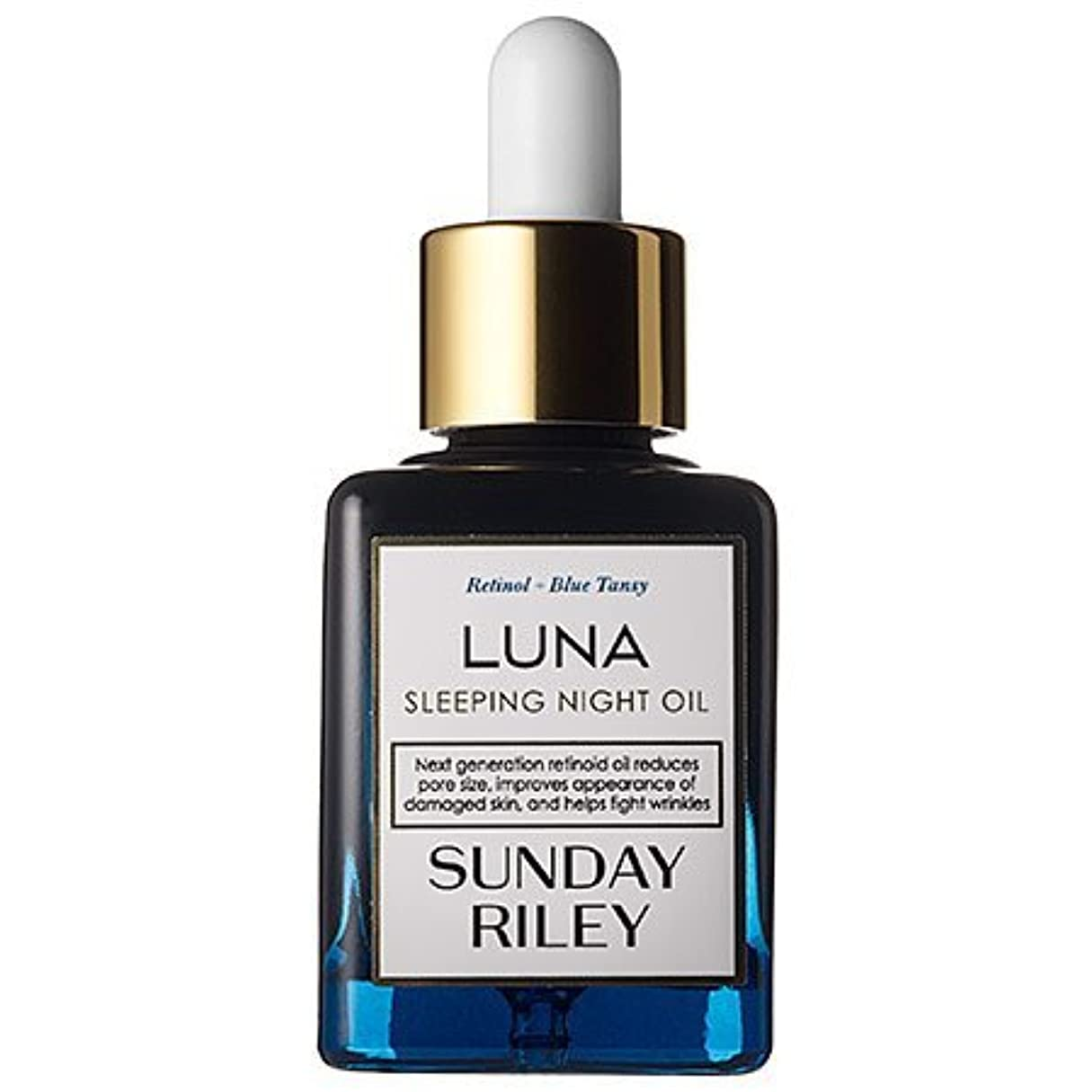 Sunday Riley Luna Sleeping Night Oil (0.5 oz) [並行輸入品]