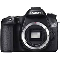 Canon EOS 70D Body Only Camera - Black (20.2MP) 3.0 inch LCD